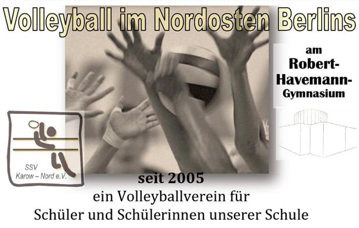 Volleyball im Nordosten Berlins